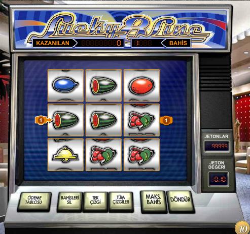 slot makinesi oyunu