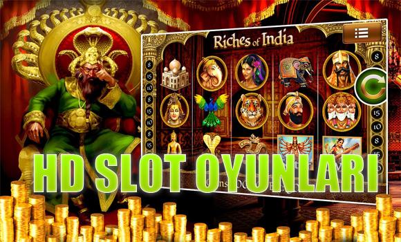HD slot oyunu oynanan siteler, HD slot oyunları, hangi sitelerde HD rulet oyunu oynanır